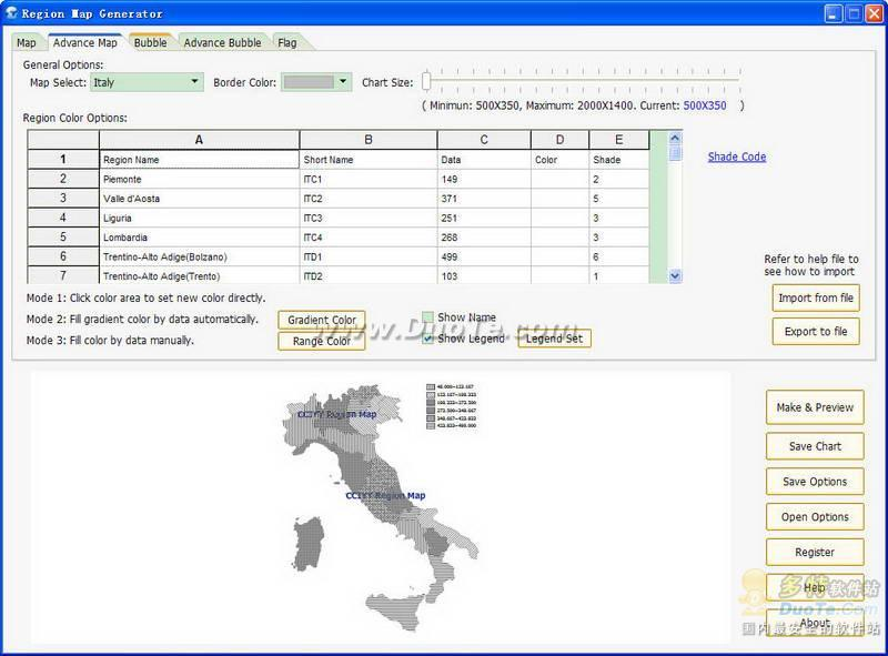 Region Map Generator下载
