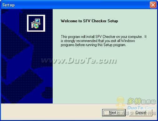 SFV Checker下载
