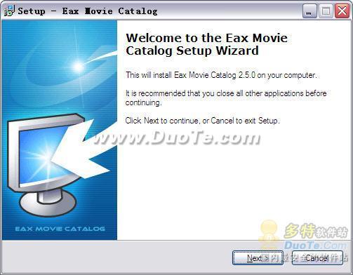 Eax Movie Catalog下载