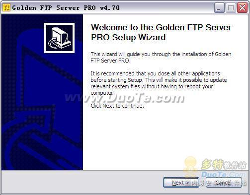 Golden FTP server Pro下载