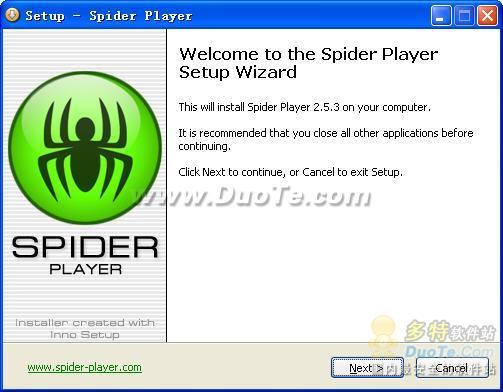 Spider Player下载