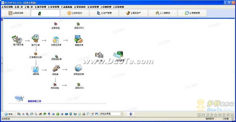 RXERP软件生产管理系统下载