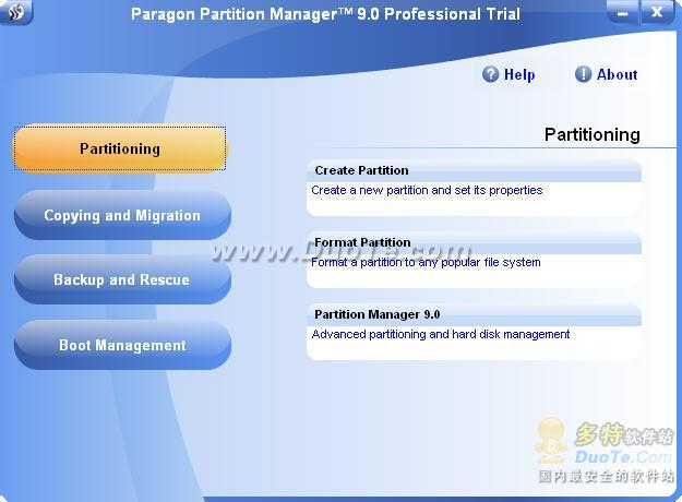 Paragon Partition Manager Professional Edition下载