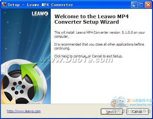 Leawo MP4 Converter下载