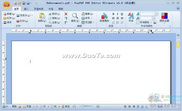 PDF编辑器 (FoxPDF PDF Editor Ultimate)下载