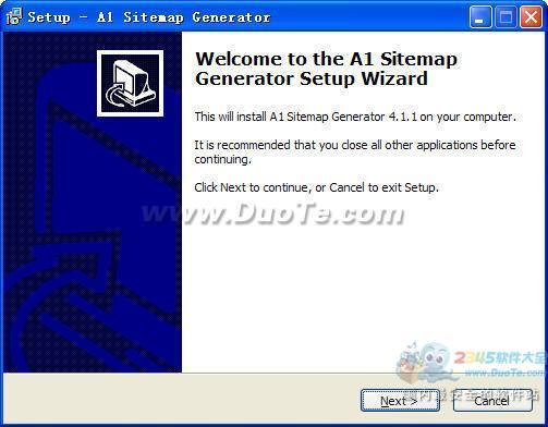 A1 Sitemap Generator下载