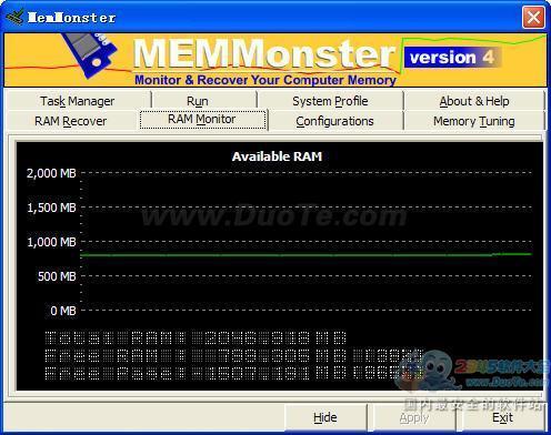 MemMonster (系统内存管理工具)下载