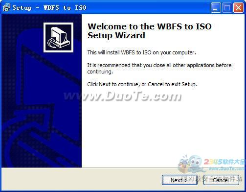 WBFS to ISO(WBFS文件转ISO)下载