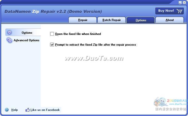DataNumen Zip Repair(Zip修复工具)下载