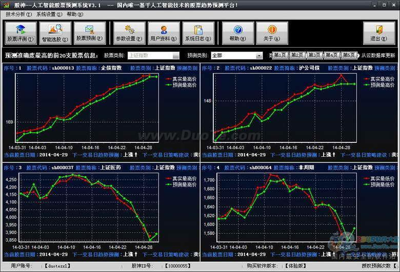 股神人工智能股票预测系统下载