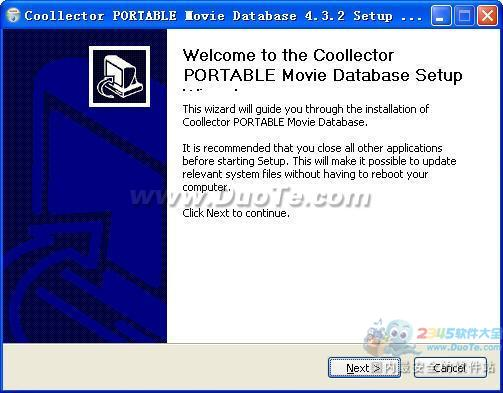Portable Coollector Movie Database(媒体管理)下载