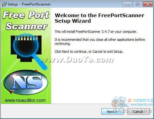 FreePortScanner(端口扫描器工具)下载