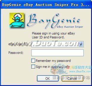 BayGenie eBay Auction Sniper下载