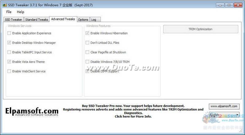 SSD Tweaker(固态硬盘优化)下载