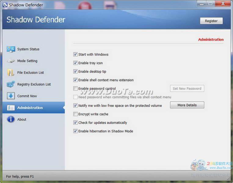Shadow Defender(影子系统)下载