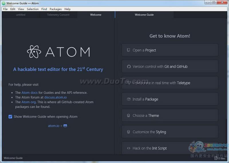 Atom下载