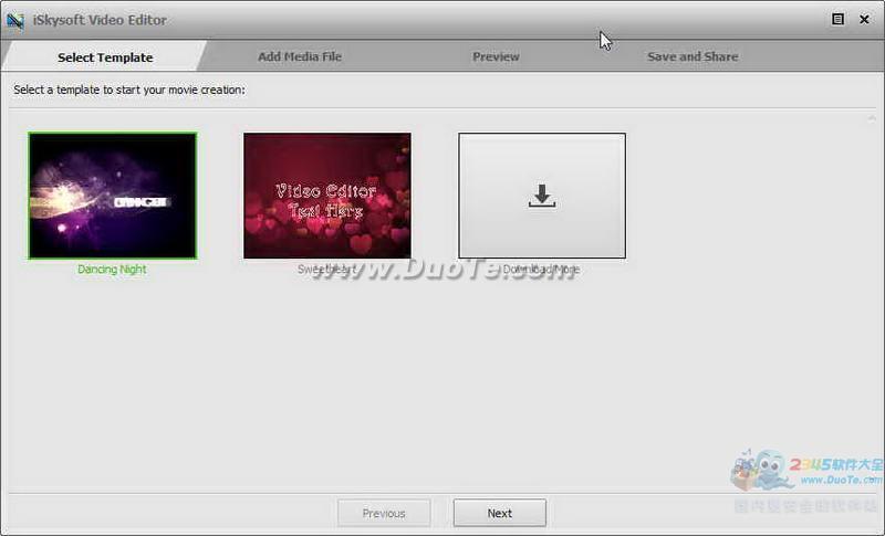 iSkysoft Video Editor(视频编辑器)下载