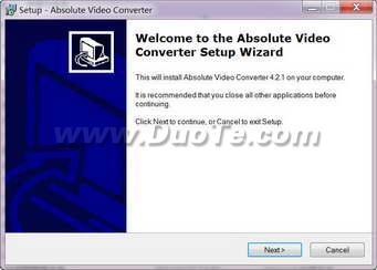 Absolute Video Converter(视频转换工具)下载