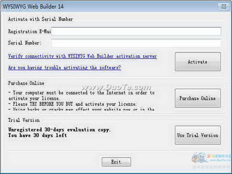 WYSIWYG Web Builder (网页生成工具)下载