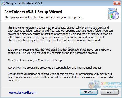 FastFolders(快速文件夹)下载