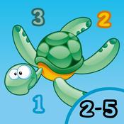 2-5岁儿童的海洋动物