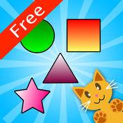 QCat - 幼儿形状游戏 Toddler Shape Educational Games (Free)