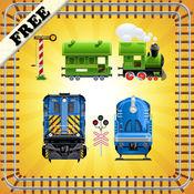 拼图玩具火车幼儿和儿