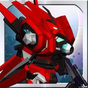 Battle 3D: Robots Sky