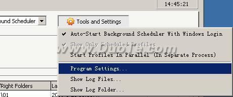 Super Flexible File Synchronize设置手册