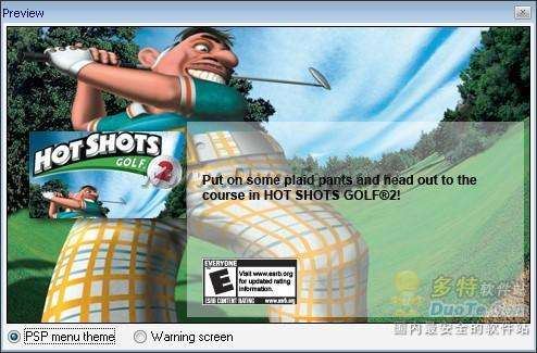 PS游戏转换器PSX2PSP使用教程