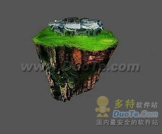 Photoshop 合成悬空之城