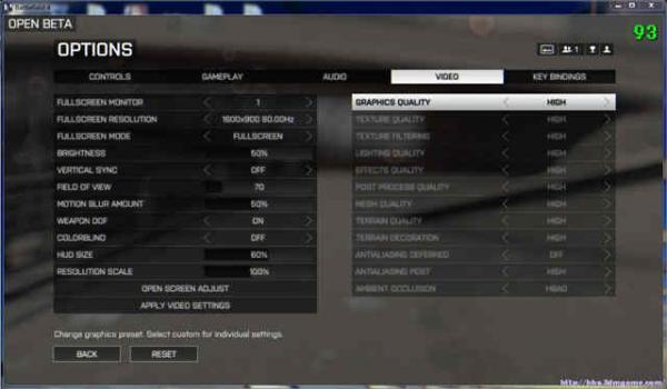 《战地4》通过控制台显示帧数方法介绍