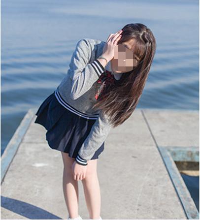 LR日系调色海风少女