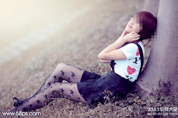 学习打造冷艳美丽女生照片的PS教程
