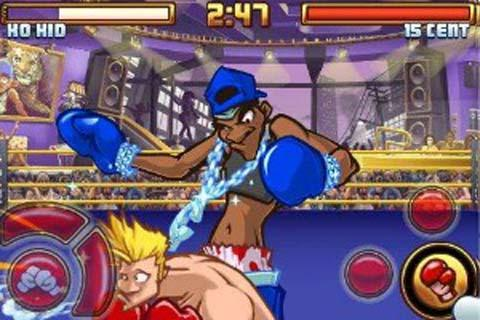 《超级拳击2》蓝雷鬼头、红灯泡男打法
