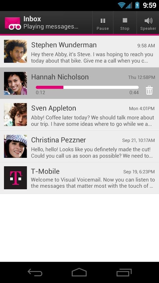T-Mobile Visual Voicemail软件截图2
