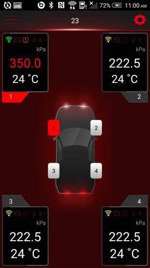 多轮蓝牙胎压监测系统软件截图1