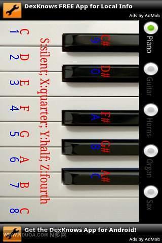 迷你钢琴软件截图1