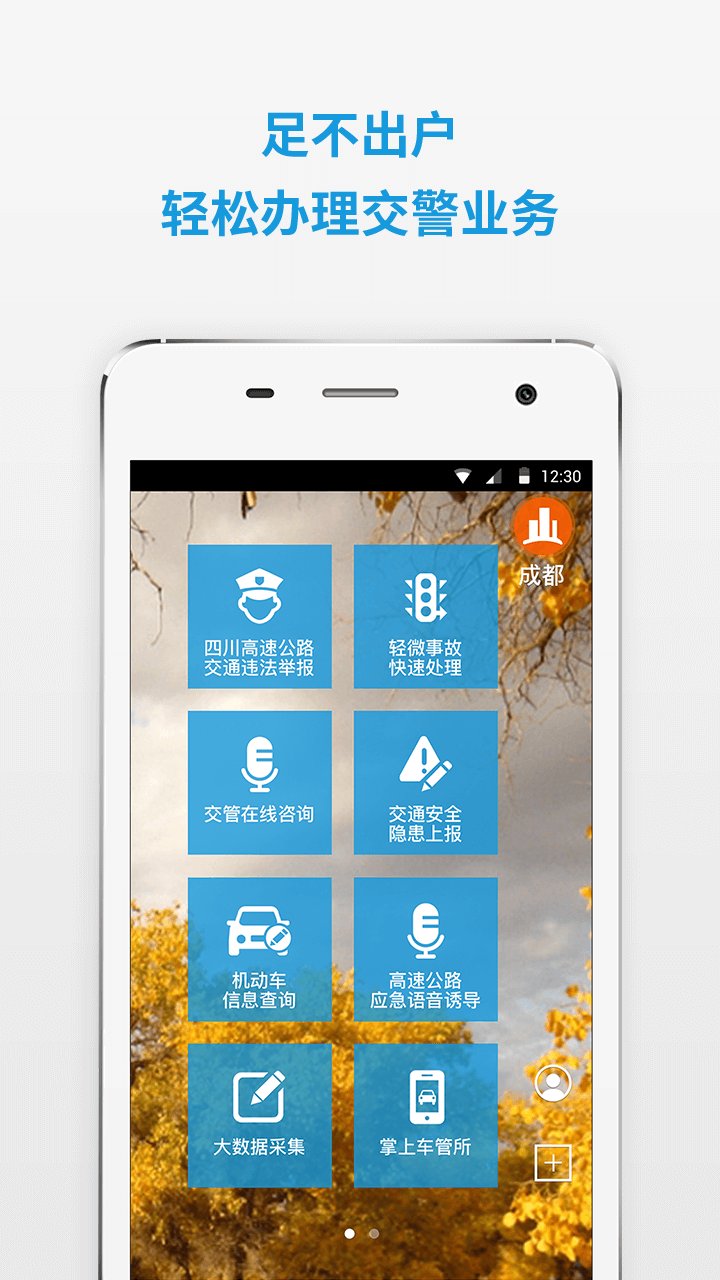 四川公安交警公共服务平台软件截图0