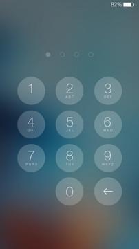 最美iOS8主题锁屏软件截图4