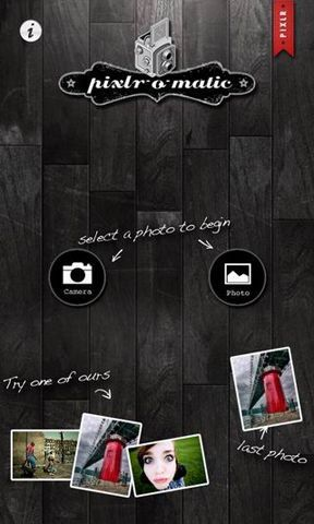 Pixlr-o-matic照片处理