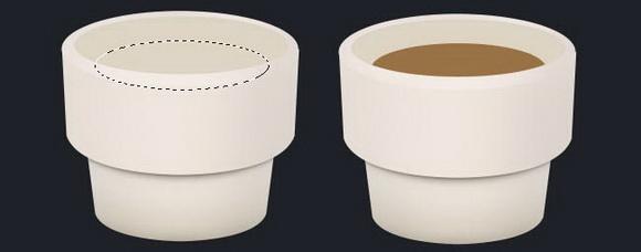 Photoshop打造作一杯浓香的热咖啡