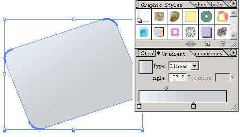 Illustrator CS设计矢量精致图标步骤详解(1)