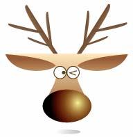 Illustrator画出可爱驯鹿头像