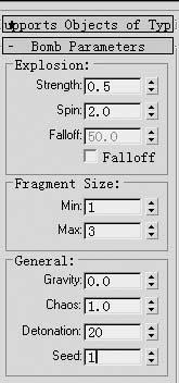 用3DS MAX4.0制作文字的爆炸效果