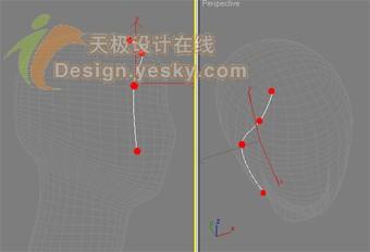 3DsMAX7.5毛发新功能实例:曲线定制发型