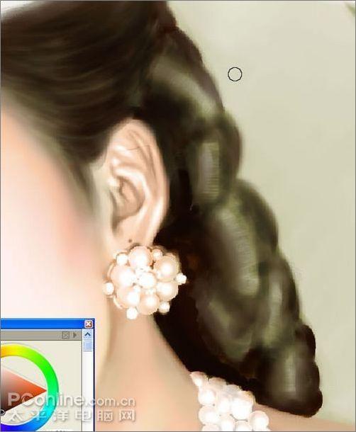 Painter手绘风格女孩详细教程