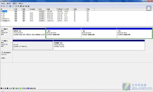 新硬盘不分配盘符磁盘文件照样用