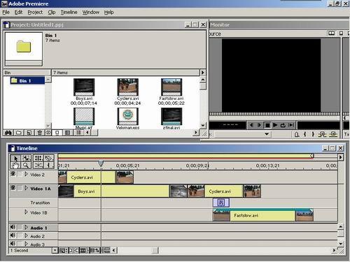 Premiere使用技巧之视频编辑