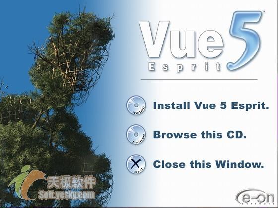 Vue 5 Esprit 基础教程之安装和界面